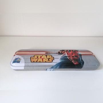 Metalowy piórnik pojemnik Star Wars