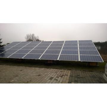 FOTOWOLTAIKA panele słoneczne 10kWp grunt