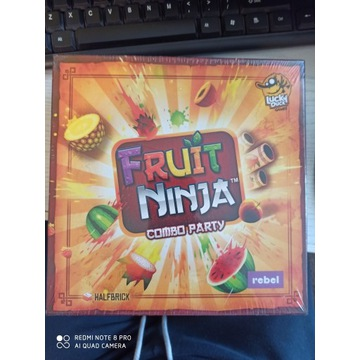 Gra planszowa gra karciana Fruit Ninja Combo Party