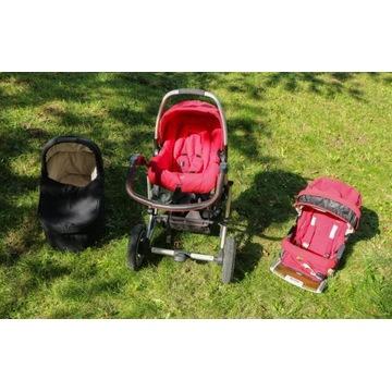 Zestaw wózków dziecięcych Bertini/PegPerego