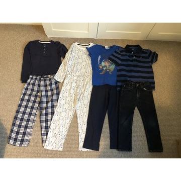 Zestaw piżam 110-116 piżamy lupilu spodnie H&M