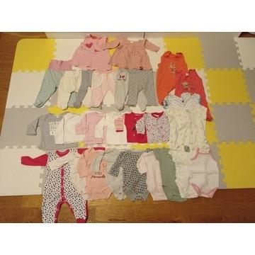 Ubranka dla niemowlaka, bobasa, noworodka rozm. 62