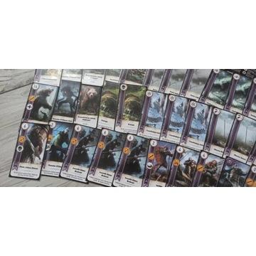 SKELLIGE - Karty do gry w Gwinta -Talia - Wiedźmin