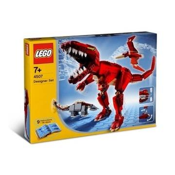 Lego Dinozaury i inne stwory 4507. Jak Nowy.Unikat