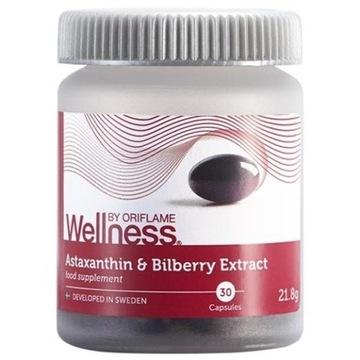 Astaksantyna i ekstrakt z borówek Wellness