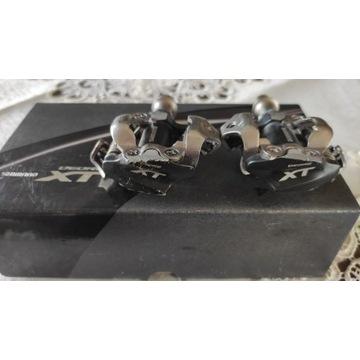 pedały shimano PD-M 780 XT srebrno- czarne