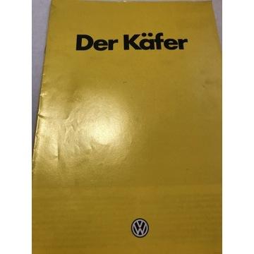 Prospekt Volkswagen garbus