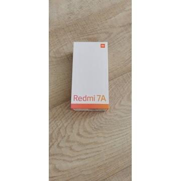 Nowy Xiaomi Redmi 7A Czarny BCM