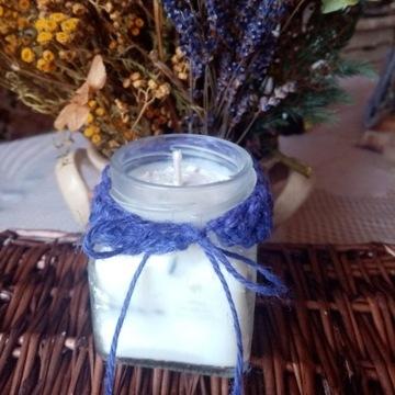 Świeczki sojowe - zapach lawenda ok. 100 gram