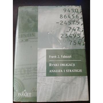 Rynki Obligacji Analiza i Strategie F. J. Fabozzi