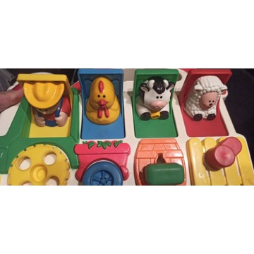 Zabawka edukacyjna zwierzęta farma