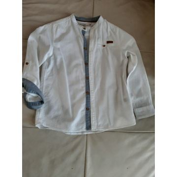 Koszula biała rozm.128 H&M