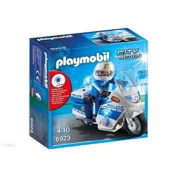 Klocki Playmobil 6923 motor policyjny
