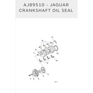 Pierścień uszczelniający wału korbowego Jaguar x s