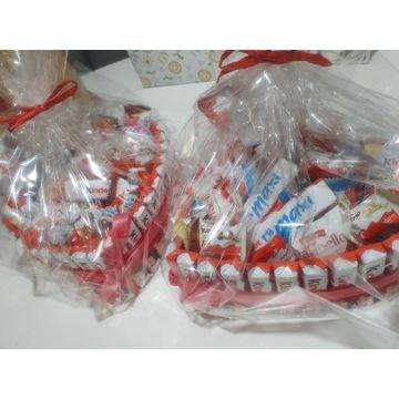 Serce z czekolady duże idealne na prezent