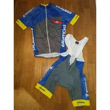 Koszulka rowerowa i spodenki Firmy Michelin L