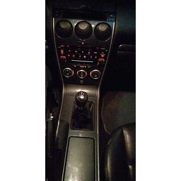Mazda 6 Radio poliftowe razem z tunelem.