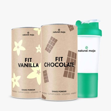 Zestaw fit Vanilla fit Chocolate plus szejker