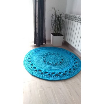 Dywan szydelko sznurek 100 cm