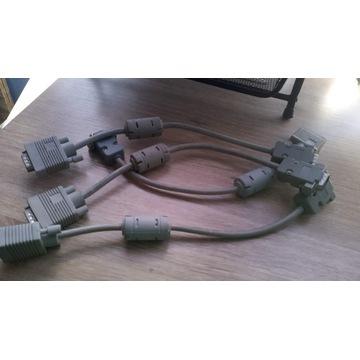 kabel VGA do monitora 20 cm - własna robota
