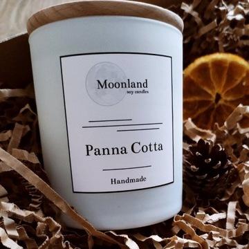 Zapachowa świeca sojowa Moonland - Panna Cotta