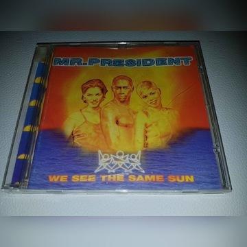 CD Mr. President We See The Same Sun