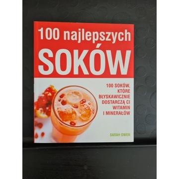 """Książka """"100 najlepszych soków"""" dla wyciskarek"""