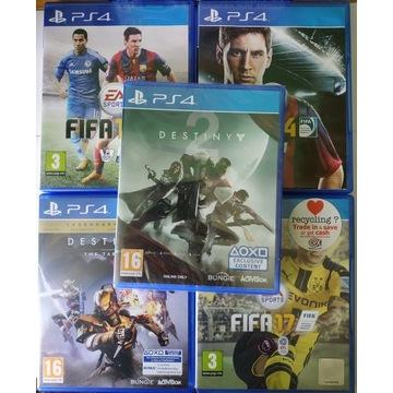 5 Gier Playstation 4  Destiny 1 2 Fifa