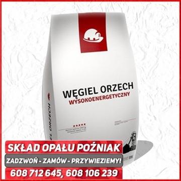 Węgiel kamienny Orzech I Polski 28MJ, 50-80mm