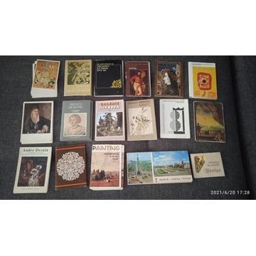 Pamiątki z wystaw, pocztówki w obwolucie