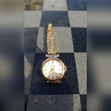 Złoty Zegarek Damski Sława Slava próba 583
