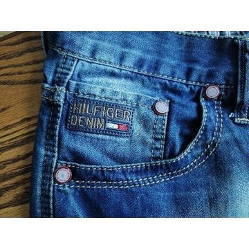 Spodnie Tommy Hilfiger Denim. Pas 88.Dł 110