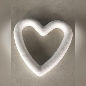 Serce styropianowe 15 cm