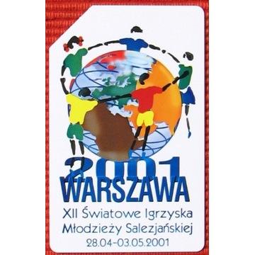 KT 1027 - XII Światowe Igrzyska Młodzieży Salezjań