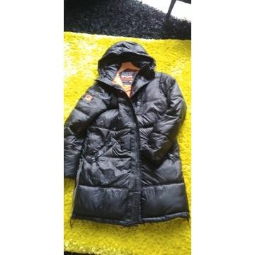 Superdry Kurtka, Płaszcz zimowy, ciepły M