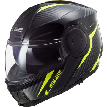 Kask LS2 FF902 Scope Solid Black Yelow M+ pinlock