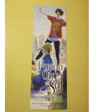 Zakładka anime manga Hidamari ga Kikoeru
