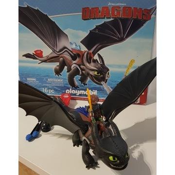 Playmobil Dragons 9246 Czkawka i Szczerbatek