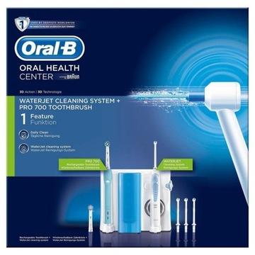 Zestaw Oral-b irygator szczoteczka PRO 700