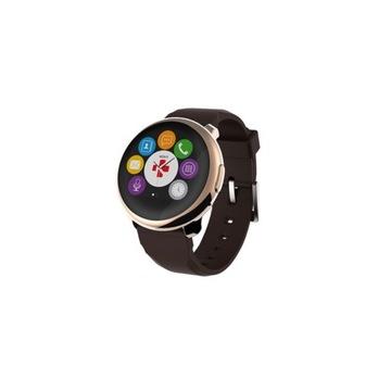 Smartwatch MYKRONOZ ZeRound Brązowo-złoty