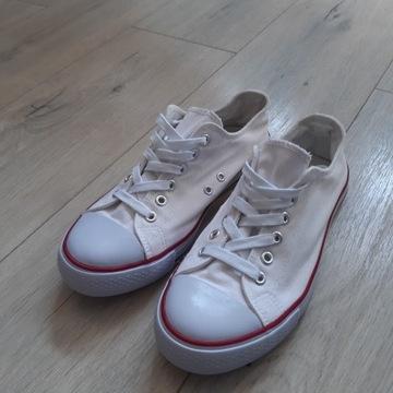 Buty Trampki Białe rozmiar 38