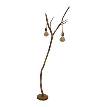 Lampa Dimond Ligh-Lampa podłogowa z gałęzi, drewna