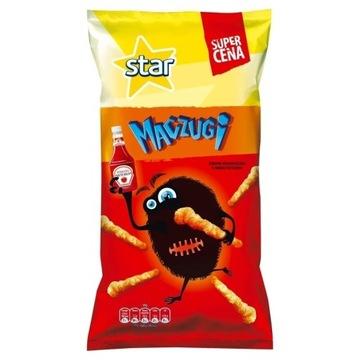 Star Maczugi chrupki kukurydziane o smaku ketchupu