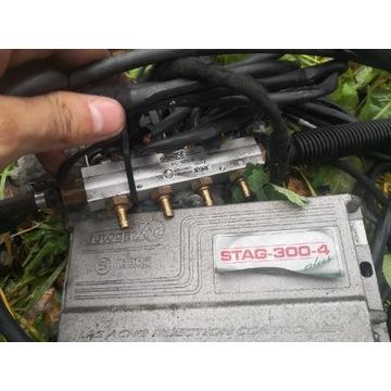 Instalacja gazowa stag 300-4 plus