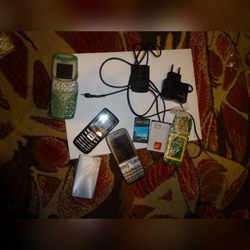 ZESTAW Telefonów  3szt  NOKIA 5100 E52 Myphone3350