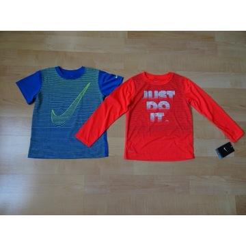NIKE Dri-FIT koszulki 7 lat, rozmiar 122