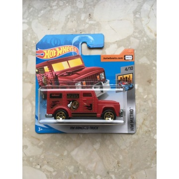 Hot wheels Hw armored truck