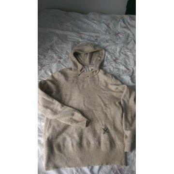 sweter Levis nude beżowa wełna -nie gryzie