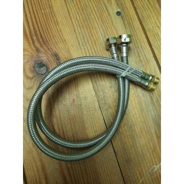 Hydraulika, węże do kranów i połączeniowe.