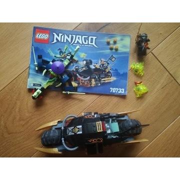 Lego Ninjago Motocykl Cole'a 70733